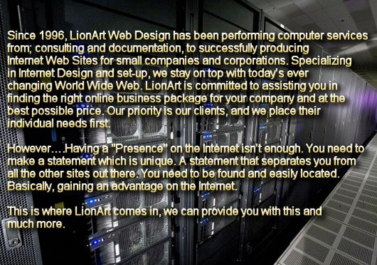 Lionart Web Design